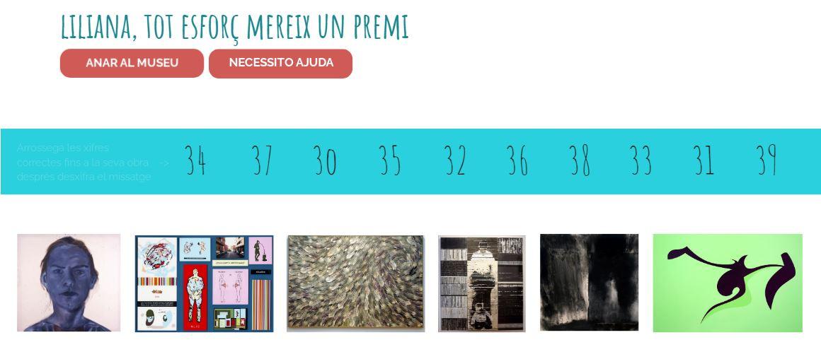 Escape room online museu Art Modern Tarragona