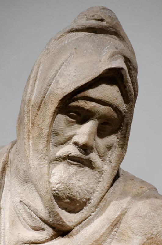 Michelangelo Autorretrato escultura Piedad Bandini