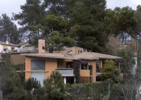 Enric Miralles Casa Garau Agustí Bellaterra
