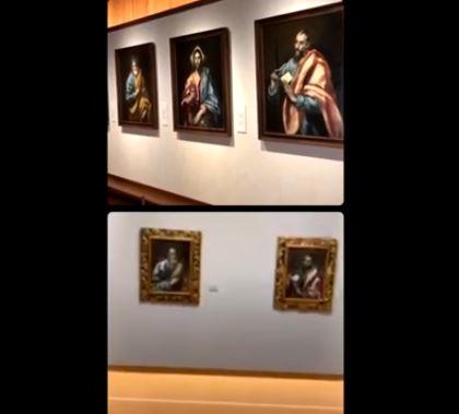 El Greco en el Museo del Greco y Museo de Bellas Artes de Asturias