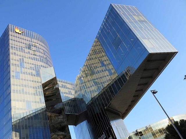 Edificio Gas Natural Barcelona Miralles Tagliabue EMBT Arqutectos