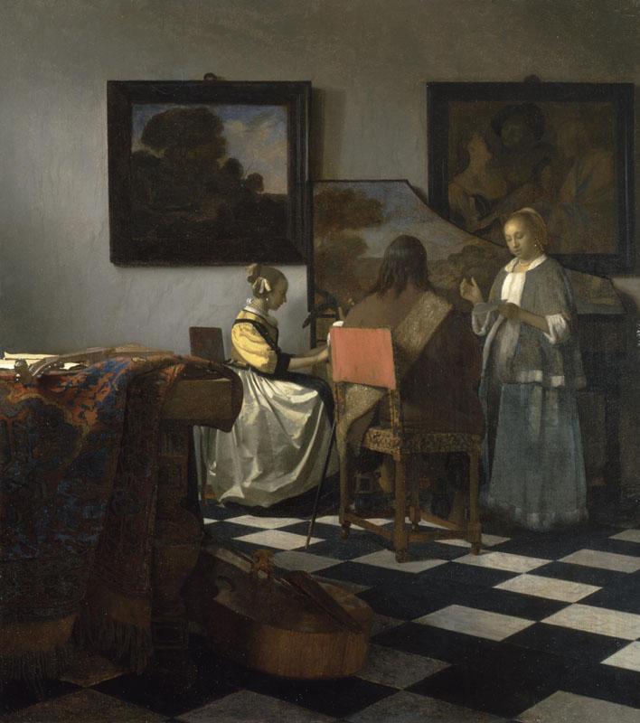 El concierto de Vermeer Isabella Stewart Gardner Museum, Boston