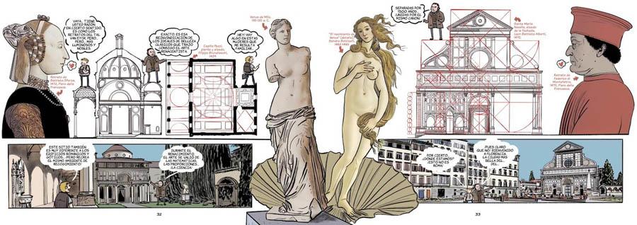 Historia del Arte en Cómic: Renacimiento composición y armonía Pedro Cifuentes