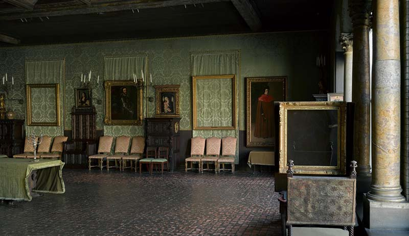 Isabella Stewart Gardner Museum, Boston Sala Rembradnt Vermeer