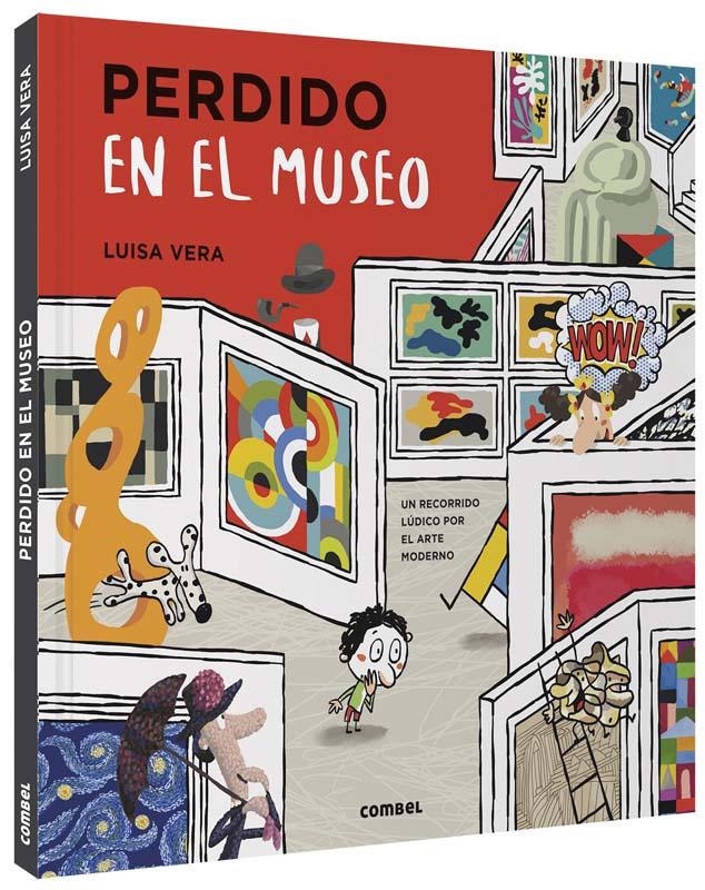 Perdido en el museo libro Luisa Vera