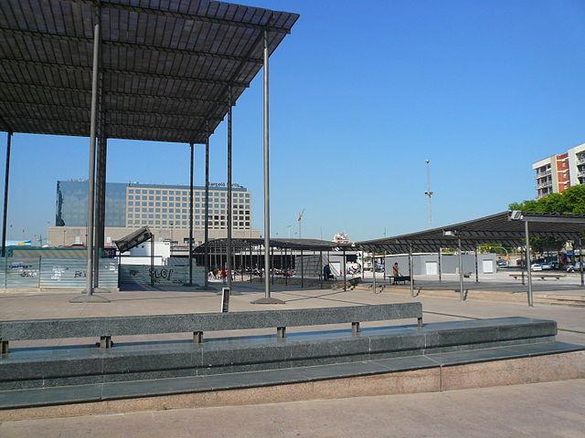 Enric Miralles Plaza Païssos Catalanes