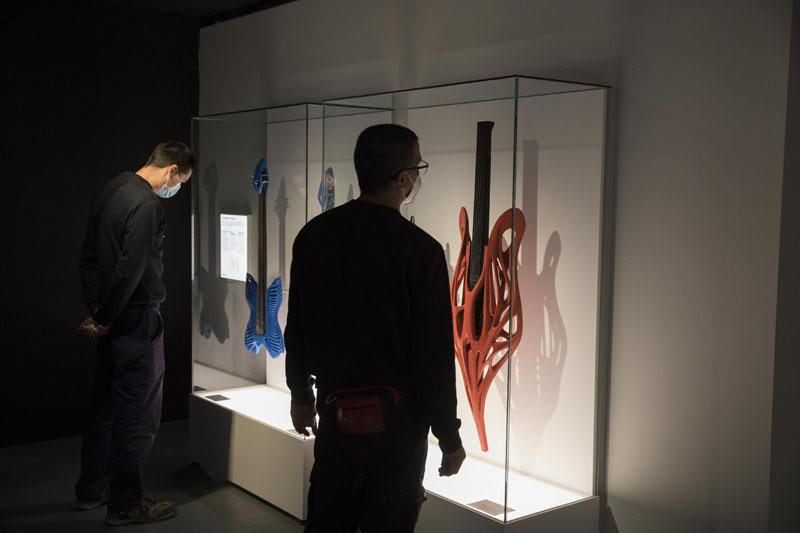 Instrumentos musicales impresos en 3D en Print3D del CosmoCaixa Barcelona