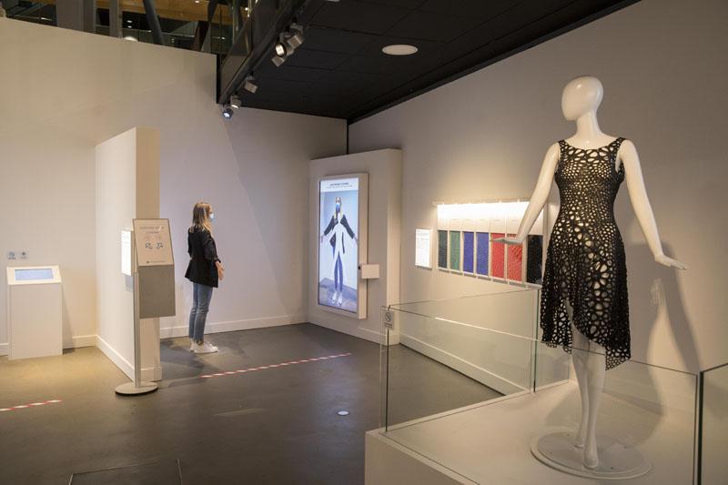 La moda impresa en 3D en Print3D del Cosmocaixa Barcelona