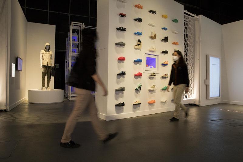 Moda impresa en 3D en Print3D del CosmoCaixa de Barcelona