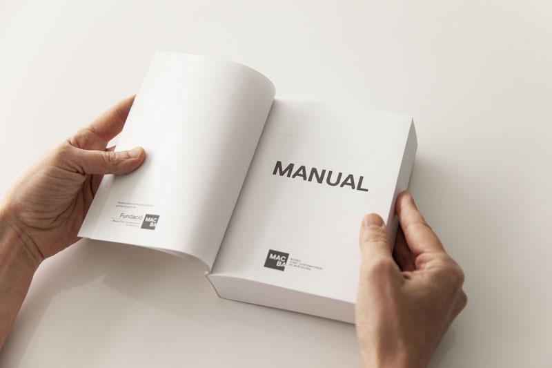 Manual del MACBA Barcelona Libro Arte Contemporáno