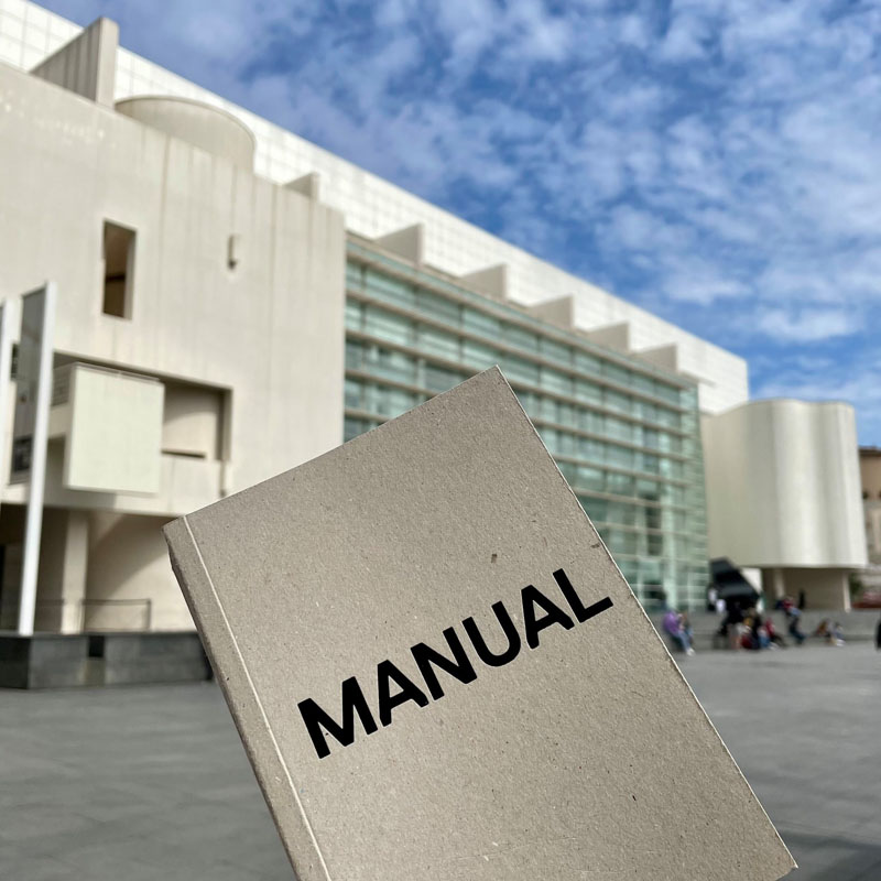 Manual del MACBA Museo Arte Contemporáneo de Barcelona Libro