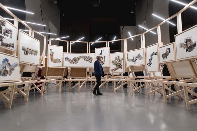 Exposición de Enric Miralles en Arts Santa Mónica de Barcelona