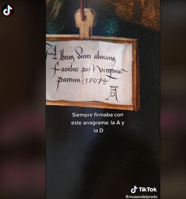 TikTok del Museo del Prado