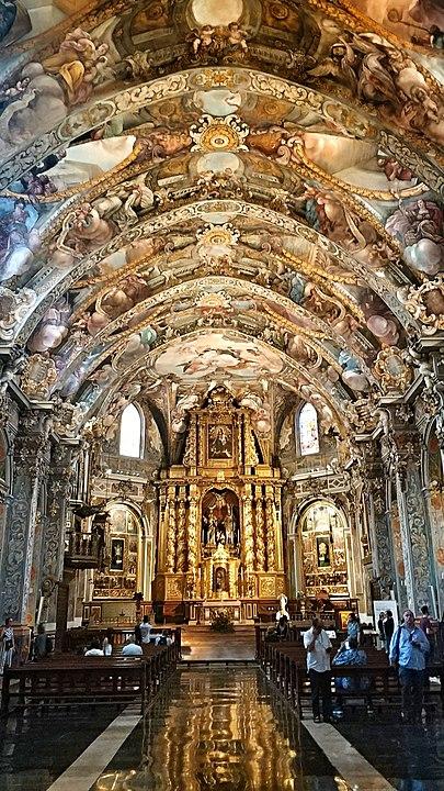 Iglesia de San Nicolás de Valencia Capilla Sixtina de Valencia