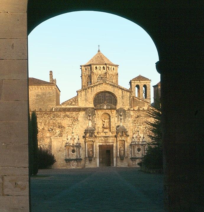 Fachada del Monasterio de Poblet