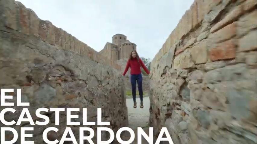 El Castell de Cardona explicado por Leopolda Olda Memòria dun país