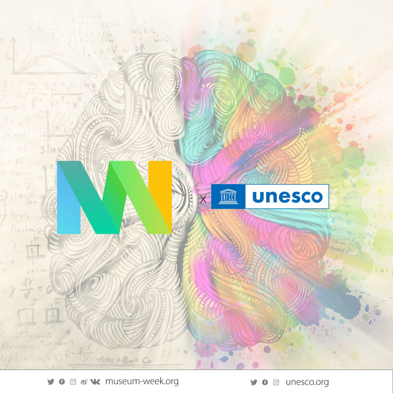 Museum Week 2021 Unesco #MuseumWeek