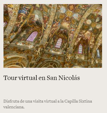 Capilla Sixtina de Valencia Iglesia de San Nicolás Tour virtual