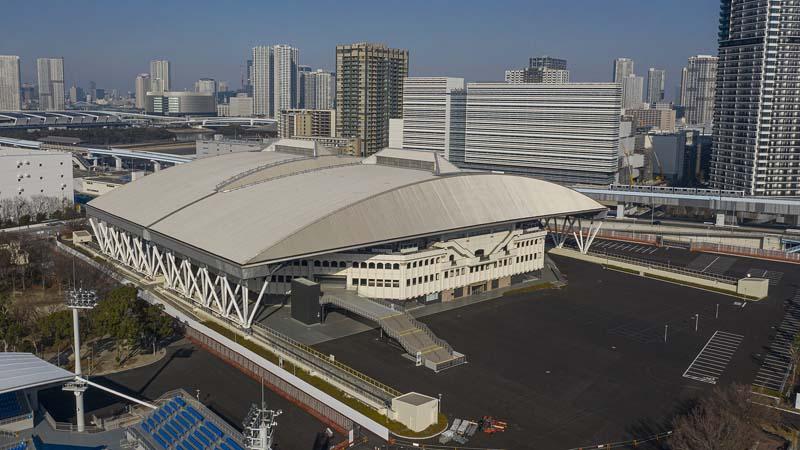 Ariake Coliseum Arquitectura Juegos Olímpicos Tokio 2020 Tenis
