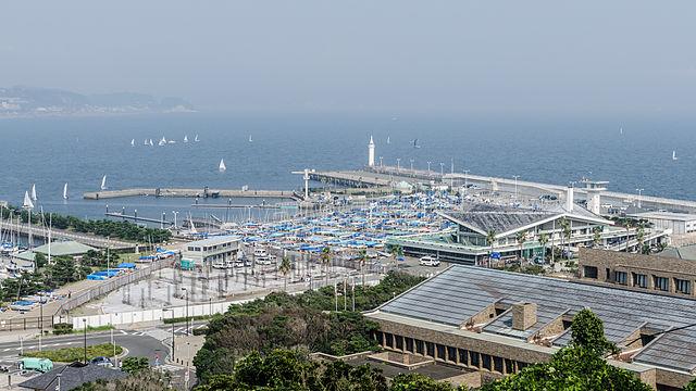 Puerto de veleros de Enoshima Tokyo 2020