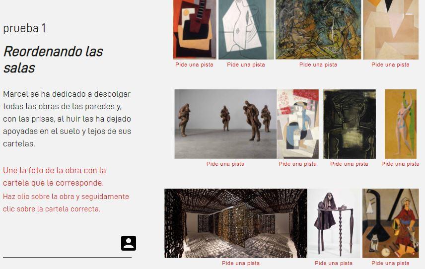 Escape room del Centre Pompidou de Málaga