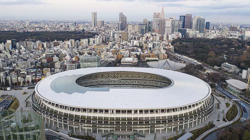 Estadio Olímpico de Tokyo 2020 de Kengo Kuma