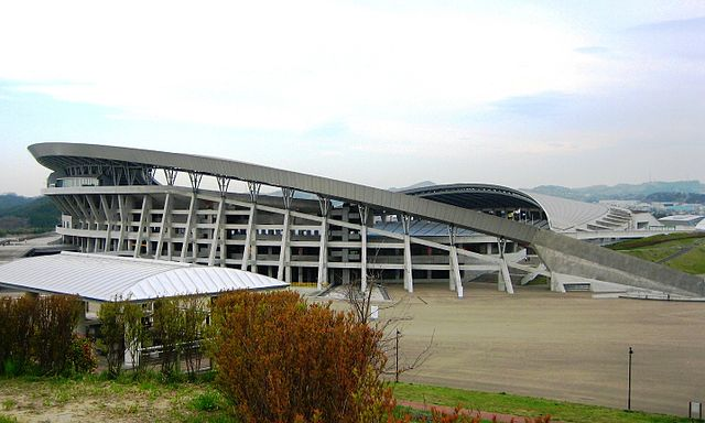 Estadio de Miyagi Juegos Olímpicos Tokio 2020 arquitectura