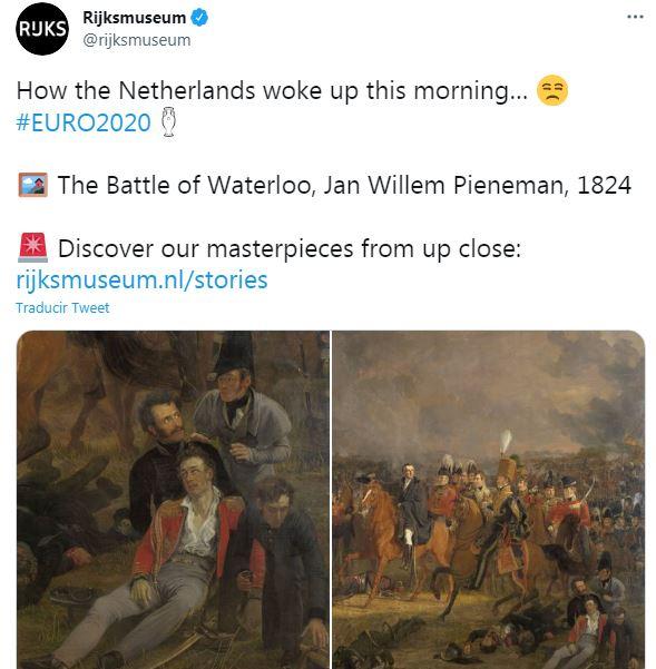 Holanda Euro 2020 Rijksmuseum