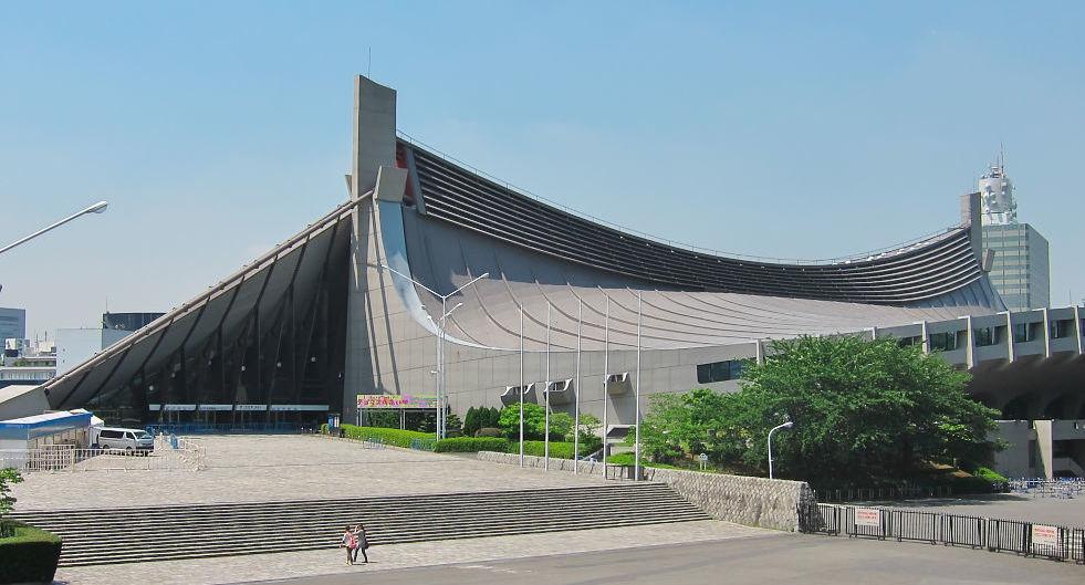 Estadio Nacional de Yoyogi Kenzo Tange Juegos Olímpicos Tokio 2020