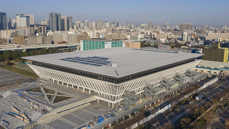 Centro Acuático de Tokyo Juegos Olímpicos 2020 Tokio Natación arquitectura