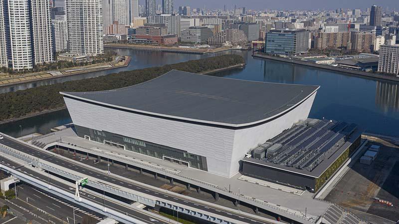 Arena Ariake de Tokyo Juegos Olímpicos 2020