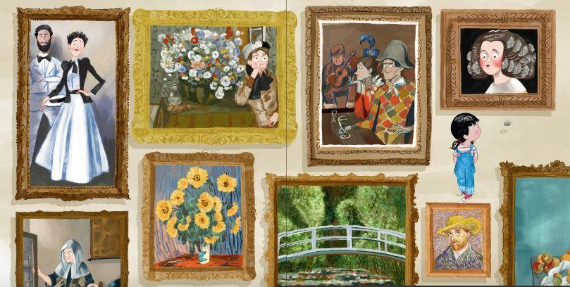 Obra de arte de The Met en Lío en el Museo
