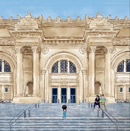 Lío en el Museo en el Metropolitan de Nueva York