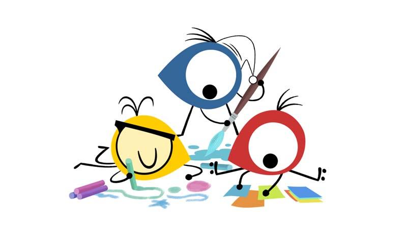 Mironins dibujos animados de arte de Joan Miró