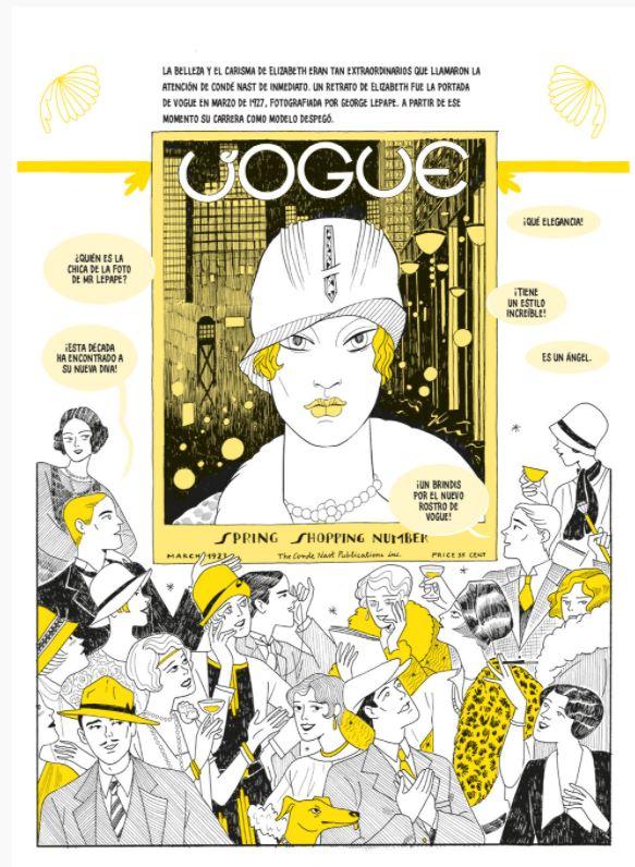 Lee Miller Vogue Cómic