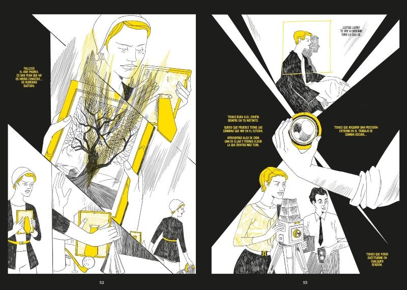 Lee Miller y Man Ray en el cómic de Eleonor Antonioni