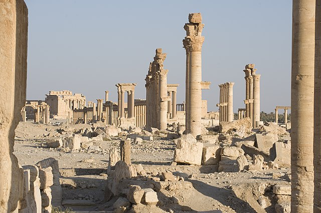 Palmira antes del Daesh